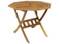 Dining table with 3 chairs. Interior or exterior. 4 seater