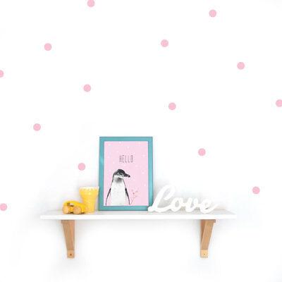 Polka Dots 2,5 cm Wandsticker Konfetti Punkte Sticker Wandtattoo Aufkleber