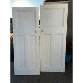 internal doors - collection only - 4 doors
