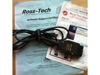 Genuine Ross Tech VCDS HEX+CAN Dual-K & CAN USB Interface.