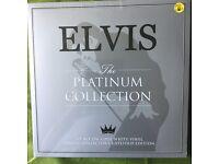 Elvis Presley Platinum Collection 3 Vinyl Set Factory Sealed