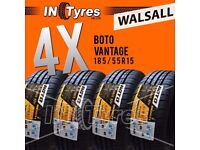 4x New 185/55R15 BUDGET185 55 15 Fitting Available