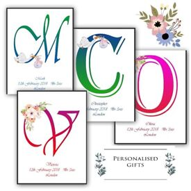 Personalised prints / gifts