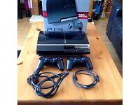 Charcoal Black Sony PS3 Original 320GB