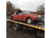 Free uplift for scrap cars