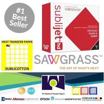 Sawgrass Virtuoso Sublimation Ink Cartridge Sg400sg800 Black20sh Sublicotton