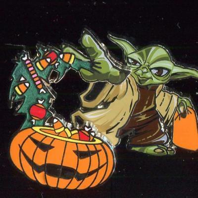 Yoda Pumpkin (Yoda and Pumpkin Halloween Disney Pin)