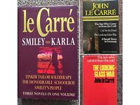 John Le Carré - Trio of 1st Edition Collectible Books