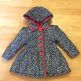 Girls coat 12-18months