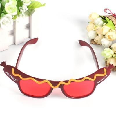 Lustige Hot Dog Sonnenbrille Kostüm Fancy kleidete Gläser - Fancy Gläser
