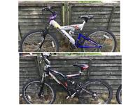 2 X BICYCLES FOR SALE