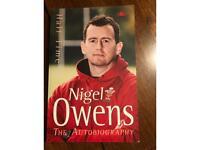 Nigel Owens autobiography