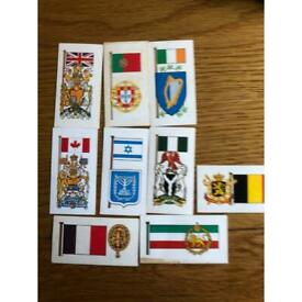 Brook Bond Tea Flags and Emblems