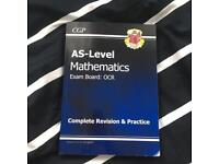 AS OCR Maths CGP Revision guide
