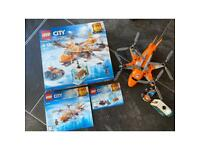 Lego City 60193 Arctic Air Transport boxed
