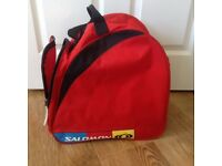 Ski Snow Board Skate Boots Essentials Carry Bag by Salomon Red and Black Vented Very good condition