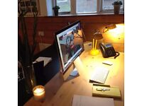 Hot Desk in shared central Lewes office