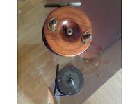 Vintage fly fishing reels