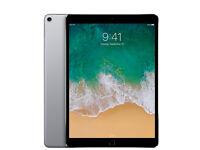 Apple iPad Pro 2nd Gen. 256GB Wi-Fi + 4G 10.5in - Space Grey A Grade Apple box