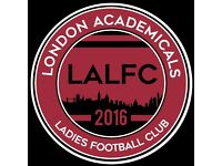 Ladies Football Players Wanted - 11 a side team based in South London