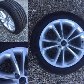 "Vw 17"" wheel and tyre"