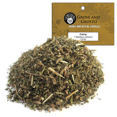 Catnip 1/2 oz Package Ritual Herb US Grown C/S by Grove and Grotto