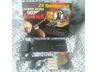 Spectrum ZX 128k 007 Lmtd ed Boxed!!1980's