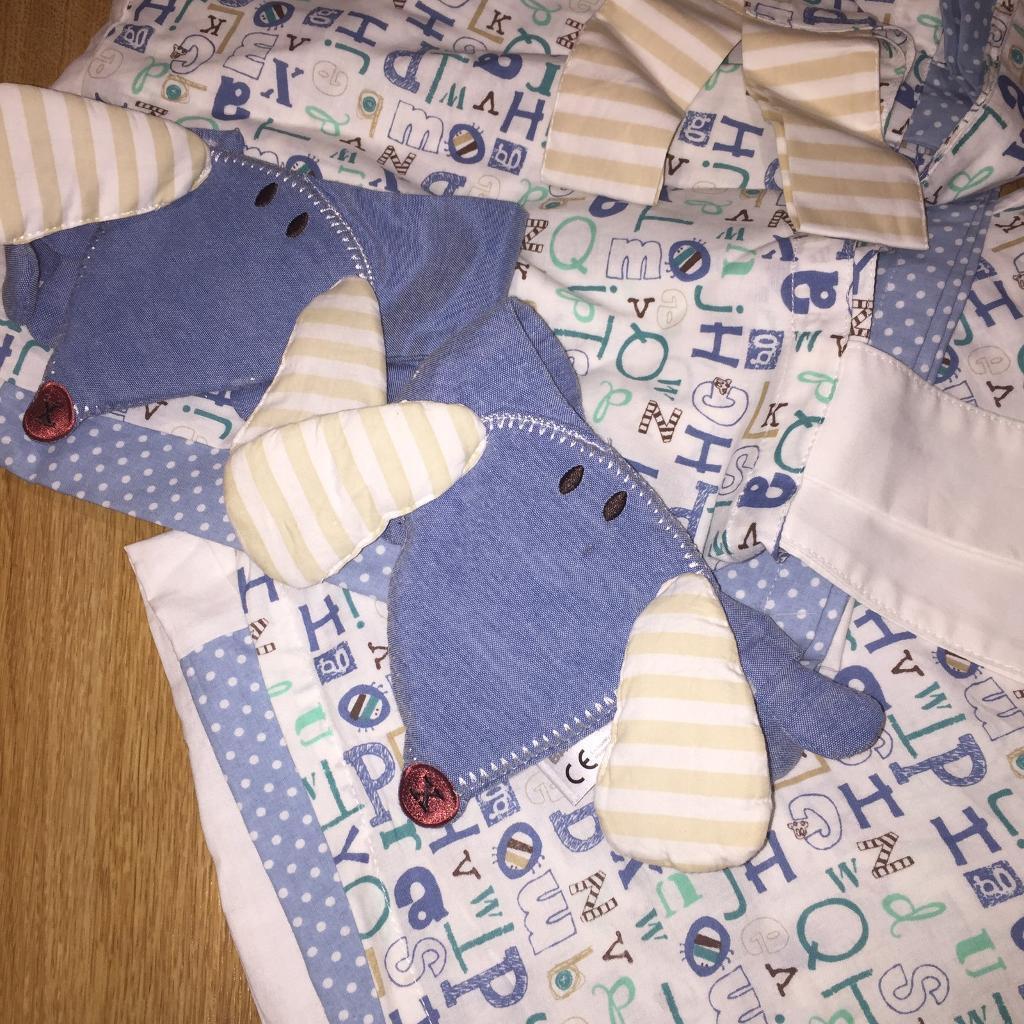 Boys nursery curtains
