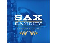 Play your saxophone in an all-saxophone community band! All ages & abilities welcome!