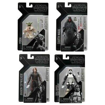 Star Wars The Black Series Archive Wave 2 Set Of 4