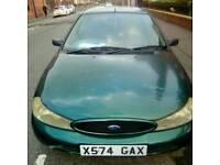 X reg ford mondeo verona 1.8 petrol 5 door hatchback cd player alloys mot