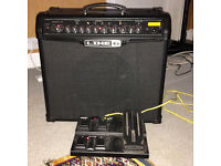 Line 6 Spider iv 75w footswitch and cover, in excellent condition.