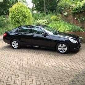 Black Mercedes E 220 CDI 2012 BlueEFFICIENCY SE 7G-Tronic 4dr