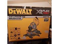 Dewalt DCS777N 54V XR Cordless FLEXVOLT Mitre Saw