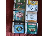 DS games x 6