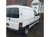 good clean reliable van with side door,low mileage,3 previous owners,part service history,full mot