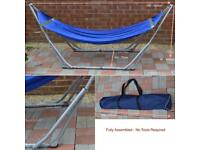Folding hammock 10gb travel camping fishing bed