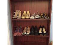 9 Pairs of ladies shoes size 4