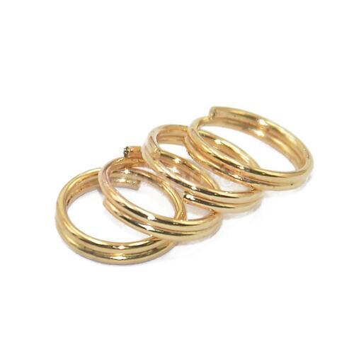 wholesale lot 50pcs key rings key chain holder split ring