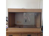 Used 3ft x 2ft reptile vivarium For Sale