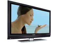 Philips 37in PLASMA TV freeview builtin with remote- FULL HD 1080P