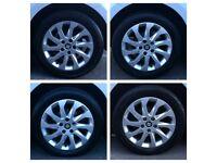 5x112 alloy wheels 16 inch, seat, Audi, vw, Mercedes, skoda