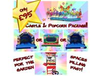 *** Party Packages *** Bouncy Castles *** Candy Floss *** Popcorn *** Slush Drinks ***