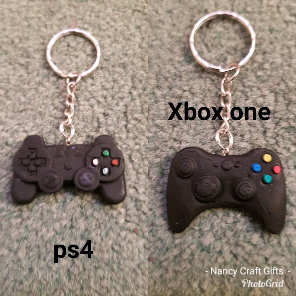 Valentine Gifts, ps4 or xbox one controller keychain | in Darlington,  County Durham | Gumtree