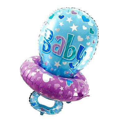Schnuller, Luftballons (Baby Schnuller Folie Luftballons Baby Dusche Taufe Geschlecht zeigen Dekor)