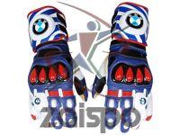 BMW Motorrad Motorbike Racing Leather Gloves