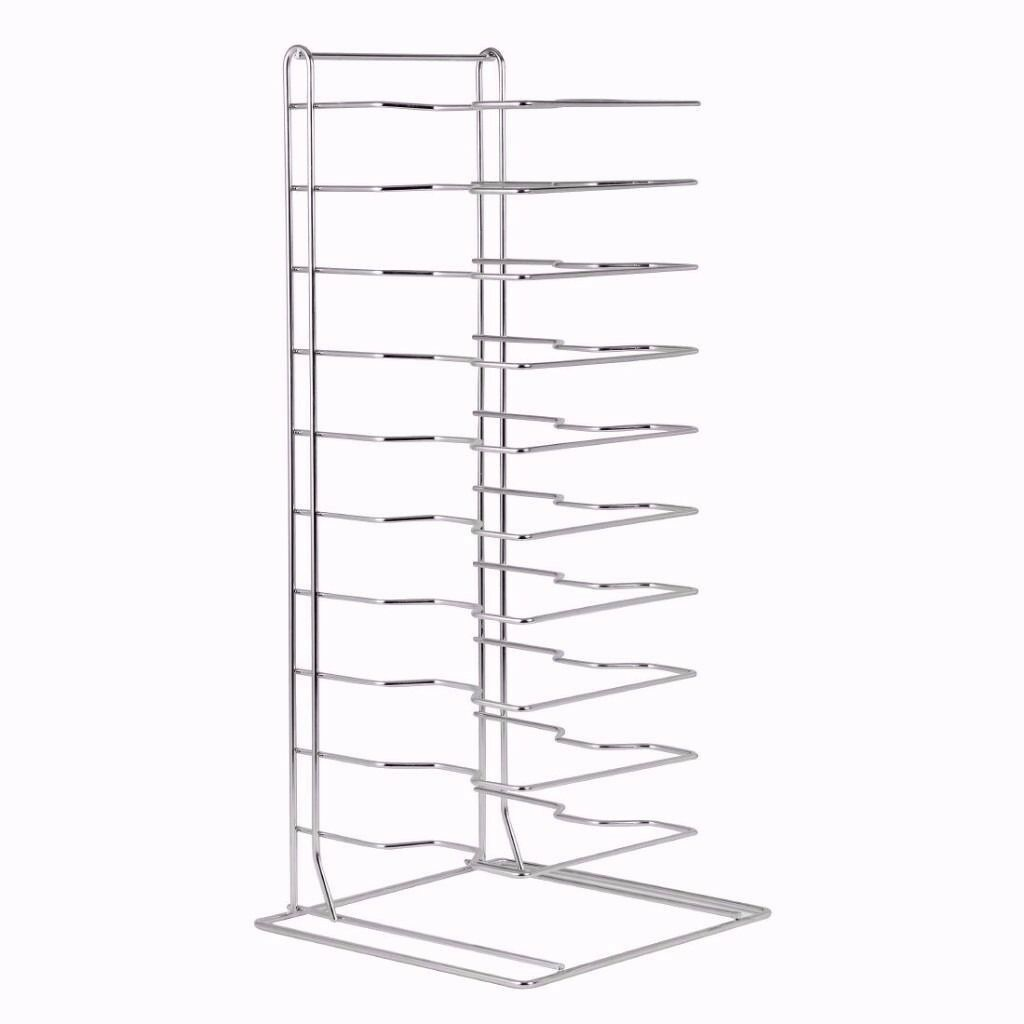 Pizza Pans Stacking Rack 15 Slot