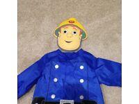 Kids Fireman Sam Costume, 3-5 years
