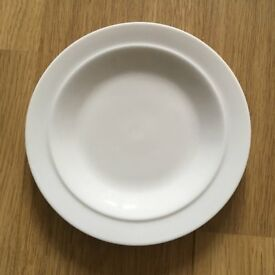Denby white - side plate