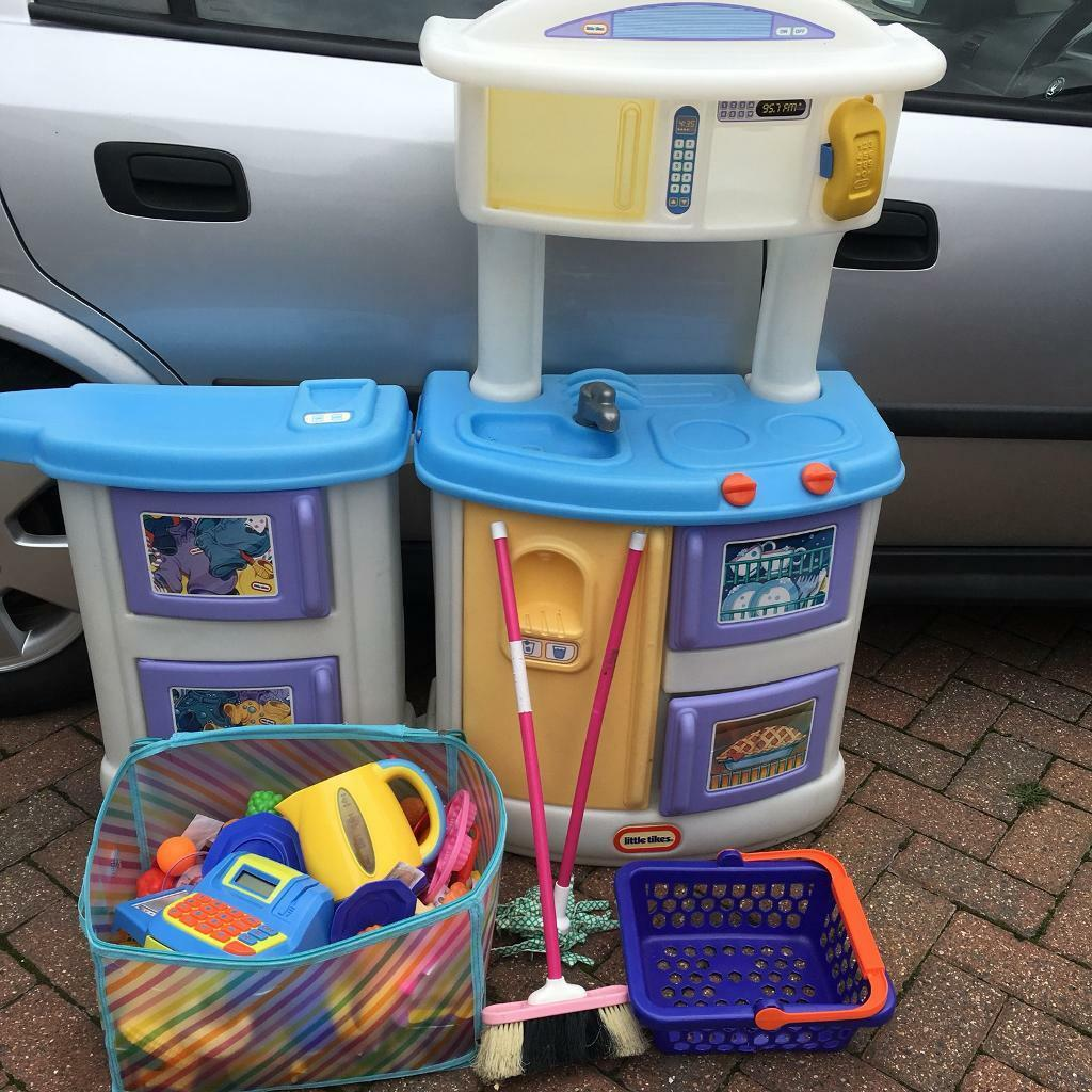 Little Tikes Kitchen Set with Play Food Sets | in Milton Keynes ...